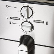 Airfryer-Heiluft-Fritteuse-Edelstahl-Fritse-Friteuse-Heissluft-Frittse-1500-Watt-4in1-Kochen-Backen-Grillen-Frittieren-80-weniger-Fett-0-2