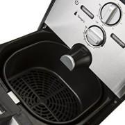 Airfryer-Heiluft-Fritteuse-Edelstahl-Fritse-Friteuse-Heissluft-Frittse-1500-Watt-4in1-Kochen-Backen-Grillen-Frittieren-80-weniger-Fett-0-3