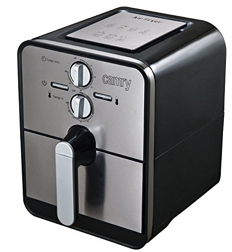 Airfryer-Heiluft-Fritteuse-Edelstahl-Fritse-Friteuse-Heissluft-Frittse-1500-Watt-4in1-Kochen-Backen-Grillen-Frittieren-80-weniger-Fett-0