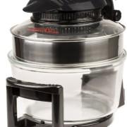 Andrew-James-12L-Digitaler-Premium-Halogenofen-in-Schwarz-mit-Klappdeckel-Leicht-austauschbarer-Ersatzhalogenbirne-2-Jahre-Garantie-Komplett-mit-Erweiterungsring-bis-zu-17L-Zange-Kuchen-Reisform-Toast-0-3