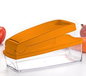 HOUSEWARES-GERMANY-HWG-Products-GmbH-ABSEdelstahlPolypropylenSAN-Cubic-Compact-Gemseschneider-Multi-Zweck-Chopper-0