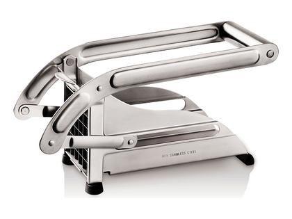 Tellier-Domestic-Pommesschneider-Abmessungen-125-mm-x-90-mm-x-260-mm-Hhe-x-Breite-x-Tiefe-komplett-mit-Schieber-und-zwei-auswechselbaren-Klingen-0