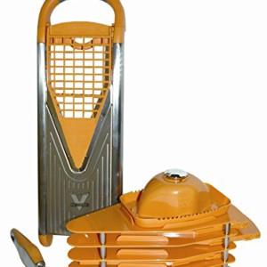 andrew james elektrischer gem sehobel und obsthobel mandoline mit eisraspler und reibeklinge und. Black Bedroom Furniture Sets. Home Design Ideas